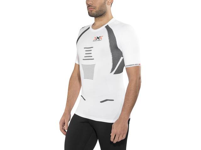 X-Bionic The Trick Running Shirt SS Men White/Black